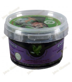 Jabón Beldi Negro - BIO - Aceite De Oliva Y Extractos De Azahar - Dulce Y Natural - 250 g