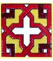 Imán Mosaico Andalusí - Cerámica Esmaltada - 6 cm