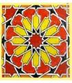 Modelo de Andalusi - esmalte cerâmico - ímã mosaico 3-6 cm
