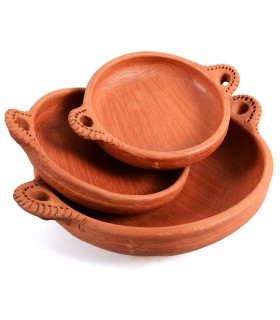 Source mud-cooking healthy-100% handmade-3 sizes