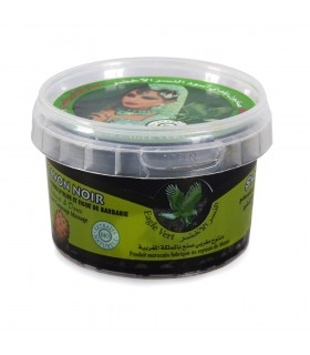 Jabón Beldi Negro - BIO - Aceite De Oliva E Higo Chumbo - Dulce Y Natural - 250 g
