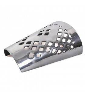 Aplique Pared Alumino Calado - Rombo - Acabado Pulido