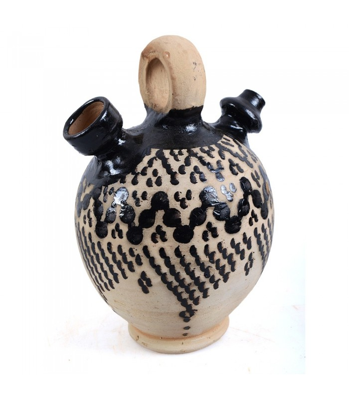 Botijo Cerámica - Decorado Berber - 2 Tamaños