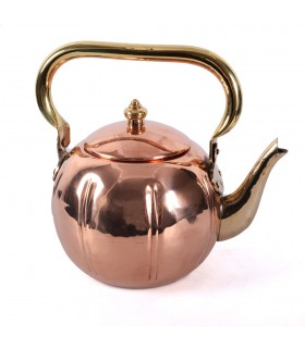 Kettle copper and bronze - rustic - 18 cm