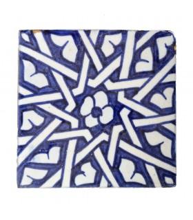 Azulejo Andalusí - 10 cm - Varios Diseños- Artesanal- Modelo 37