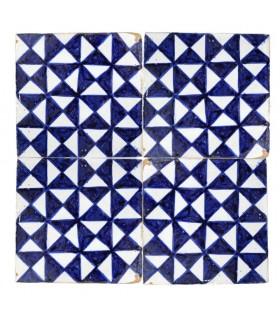 Azulejo Andalusí - 10 cm - Varios Diseños- Artesanal- Modelo 38