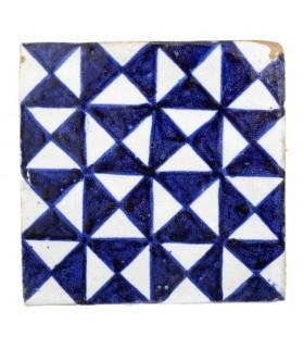 Al-Andalus - telha artesanal de 10cm - vários modelos - - modelo 36