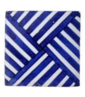 Azulejo Andalusí - 10 cm - Varios Diseños- Artesanal- Modelo 40