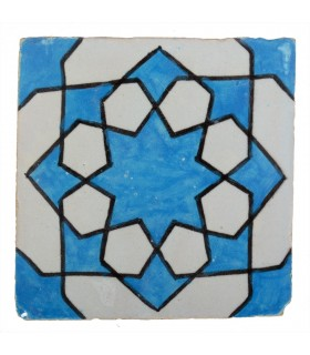 Azulejo Andalusí - 10 cm - Varios Diseños- Artesanal- Modelo 42
