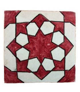 Аль-Андалус - 10 см - несколько образцов - handcrafted плитки - модель 36
