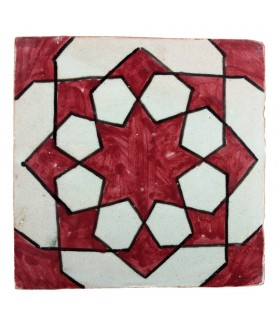 Azulejo Andalusí - 10 cm - Varios Diseños- Artesanal- Modelo 44