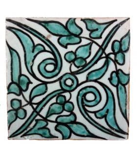 Azulejo Andalusí - 10 cm - Varios Diseños- Artesanal- Modelo 48