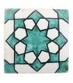 Azulejo Andalusí - 10 cm - Varios Diseños- Artesanal- Modelo 49