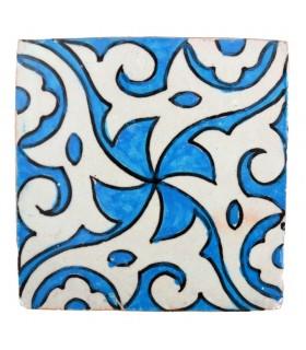 Azulejo Andalusí - 10 cm - Varios Diseños- Artesanal- Modelo 52