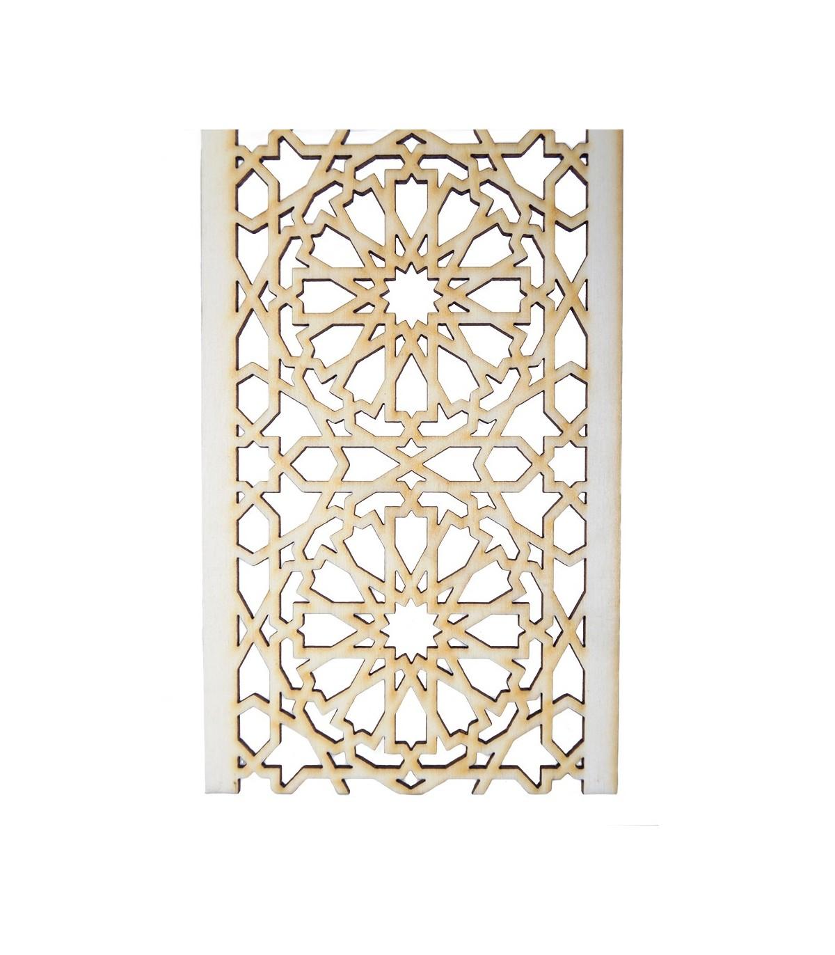 arabische gitter stall holz schneiden mit dem laser modell 1 9 cm. Black Bedroom Furniture Sets. Home Design Ideas