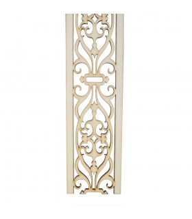 Arabic lattice stall - wood cut by Laser - model 4