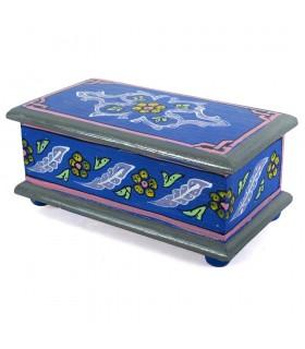 Tronc arabe - faites et main - peintes de couleurs vives - qualité