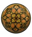 Dinner plate Pizza - Andalusian decor - 35 cm - limited edition