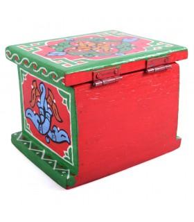 Coffret arabe - faites et peintes de couleurs vives - qualité - à la main