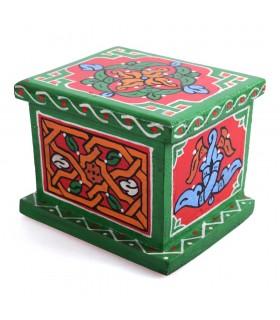 Kasten Sie Arab - gemacht und handgemalt - Farben - Qualität
