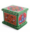 Arab Mosaic Box - Made and Hand Painted - Cheerful Colors - Quality