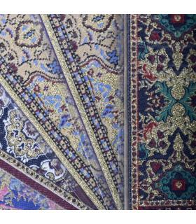Marcapáginas Tapiz Turco - Diseños Arabe Geométrico - 23 x 5 cm