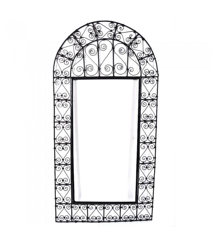 Marco de espejo arco forja dos modelos jaima alkauzar for Modelos de marcos para espejos