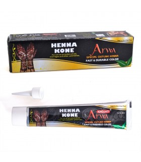 Tube tattoo Henna black - mix prepared - Tattoo - quality