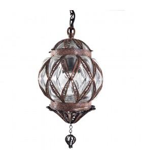 Lámpara Turca  - Cristal Fundido y Soplado - Diseño Sultan - 30 cm