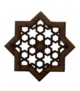 Celosia Arabe Calada - Diseño Alhambra - Iman Nevera - Modelo 2