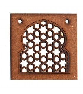 Arabic lattice openwork - design Alhambra - magnet fridge - model 3