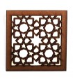 Lattice Arabic openwork-design Alhambra-magnet fridge-model 4