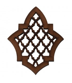 Arabic lattice openwork - design Alhambra - magnet fridge - model 6