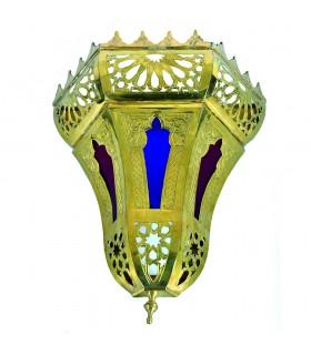 Aplique Bronce Calado - Diseño Kasba - Resinas Colores
