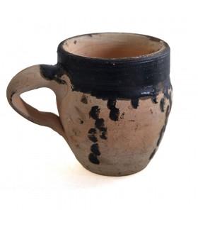 Vetro berbero - mano - dipinto di cm 10