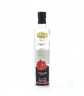 Rose water - 250 ml - bottle glass-top quality - food