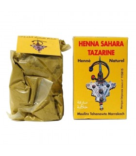 Henna Natural - Sahara Tararine -Gran Calidad - Natural - 80 gr