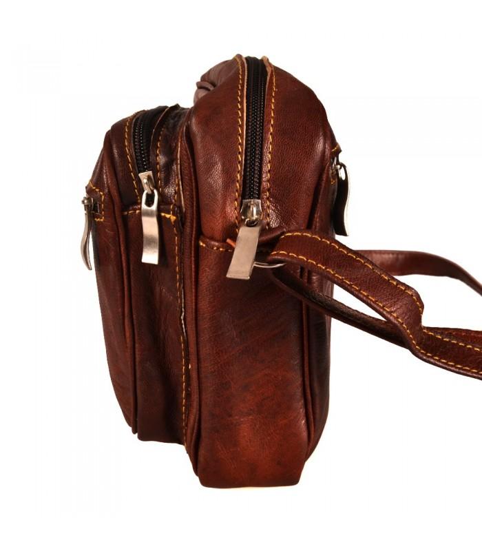 Bolso Hombre - 100% Cuero - Modelo rayul