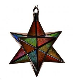 Lampara Estrella Andalusí - Varios Colores - Diseño Arabe