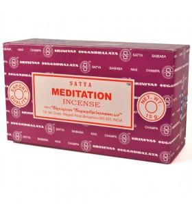 Encens méditation - Yoga - bois de santal et cèdre - série SATYA