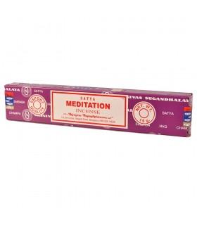 Incienso Meditación - Serie Yoga - Sándalo y Cedro - SATYA