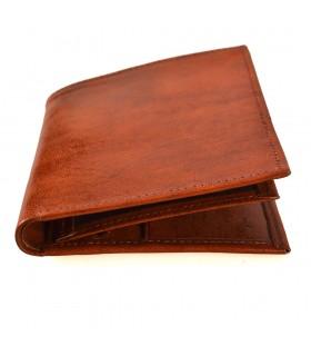 Billetera Monerado de Cuero -  Modelo Zeina - Artesanal