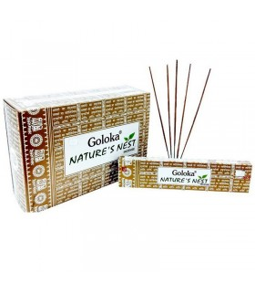 Goloka Nature´s Nest - Incienso Varillas - 15 gr