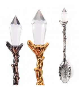 Incense Spoon - Diamond Tip - 12 cm