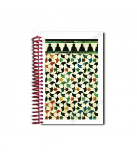 Mosaic Design Notebook - Arab Souvenir - Size A6 - 100 Sheets