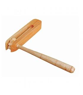 Sonaglio in legno - Artigianale - 17 cm - Bambini ideali