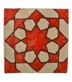 Azulejo Andalusí - 10 cm - Varios Diseños- Artesanal- Modelo 64