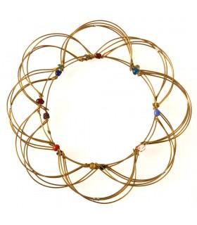 Mandala - Juego Antiestrés - 12 cm - Se Hacen Múltiples Figuras