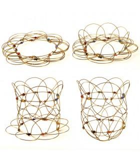 Mandala - chiffres jeu anti stress - 12 cm - sont faits multiples