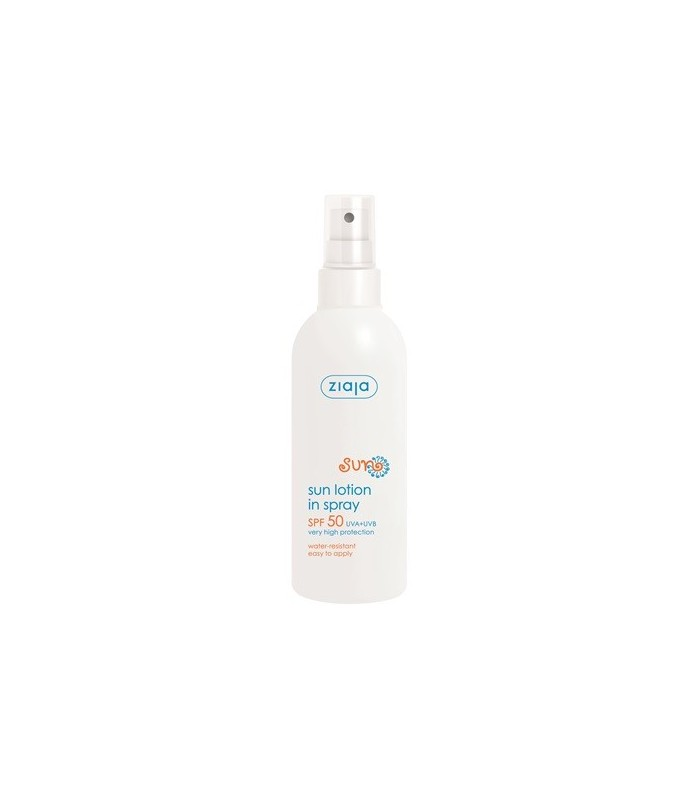 Protector Solar Spray SPF 50+ - ZIAJA - 170 ml